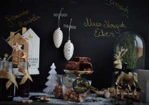 Ein Sweet Table zum Advent