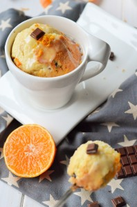 Mandarinen-Tassenkuchen (Mug Cakes)