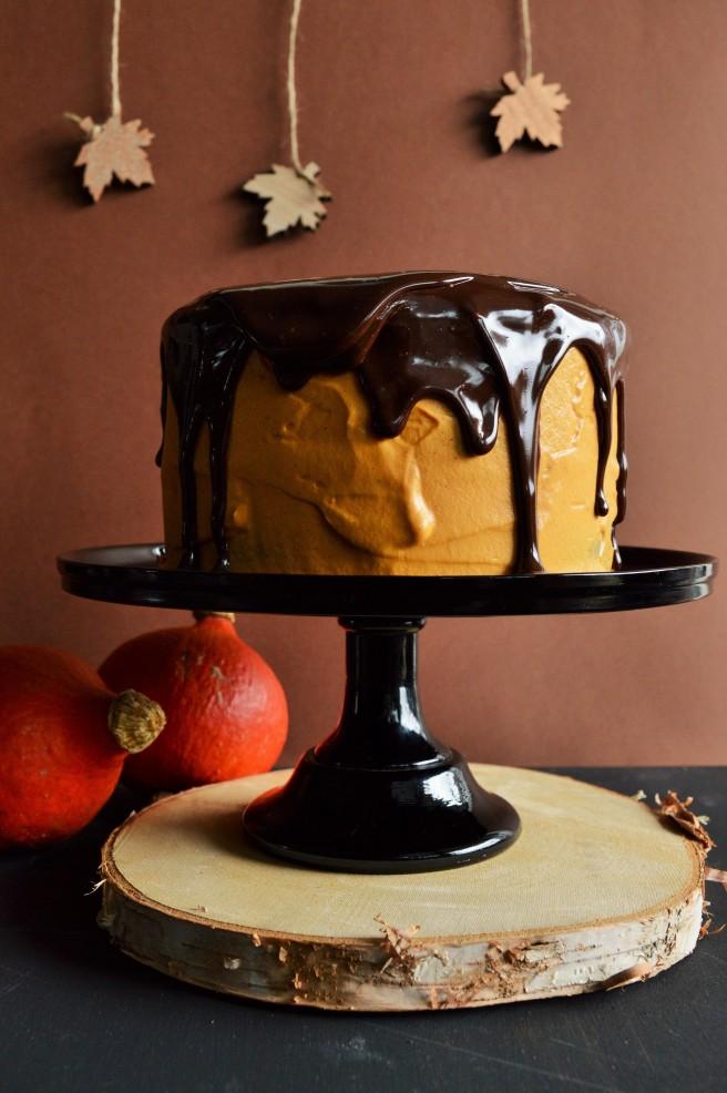 Kürbis-Schoko-Torte