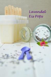 Lavendel Ice Pops