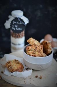 Zweierlie Cookies mit DIY Backmischung im Glas