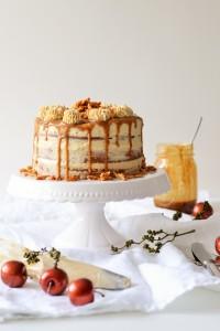 Apfel-Mandel-Törtchen mit Mascarpone-Karamell-Creme