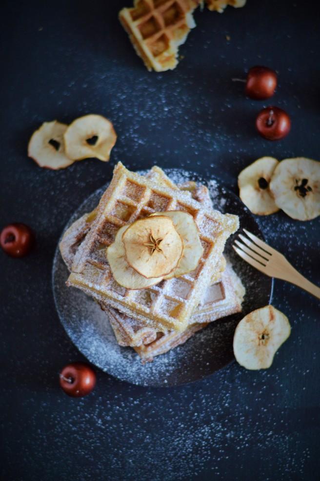 Apfel Vanille WAffeln