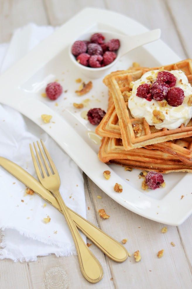 Frühstückswaffeln